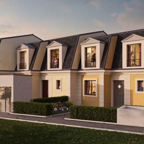 logement neuf extérieur IDEAL - SANNOIS