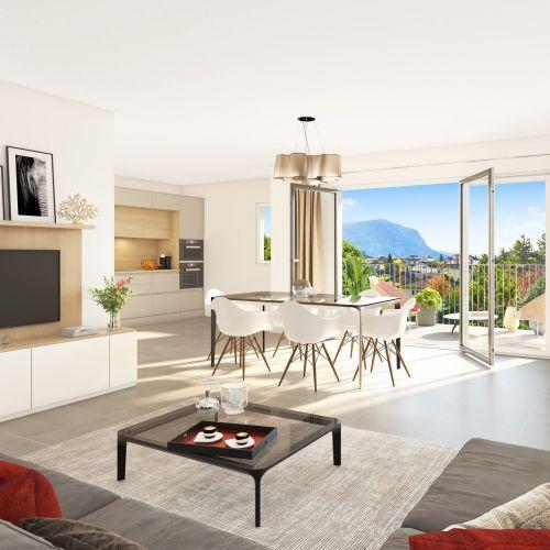 logement neuf intérieur Dolce - AMBILLY