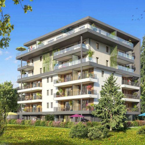 logement neuf extérieur L'inattendue - COLLONGES SOUS SALEVE