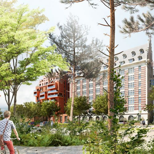 logement neuf extérieur 1 GRANDS MOULINS DE PARIS - LMARQUETTE LEZ LILLE