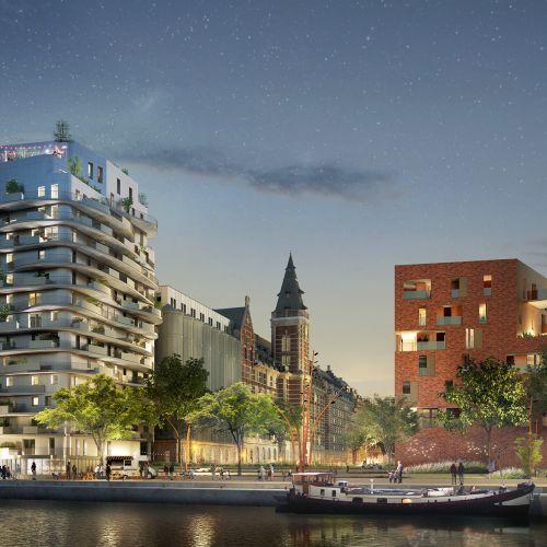 logement neuf extérieur 3 GRANDS MOULINS DE PARIS - LMARQUETTE LEZ LILLE