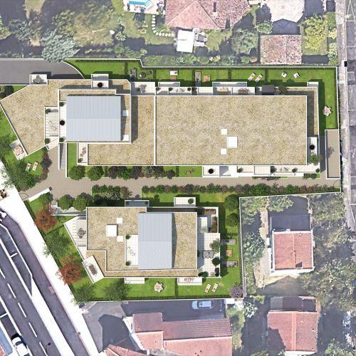 logement neuf plan SIERRA - COLOMIERS