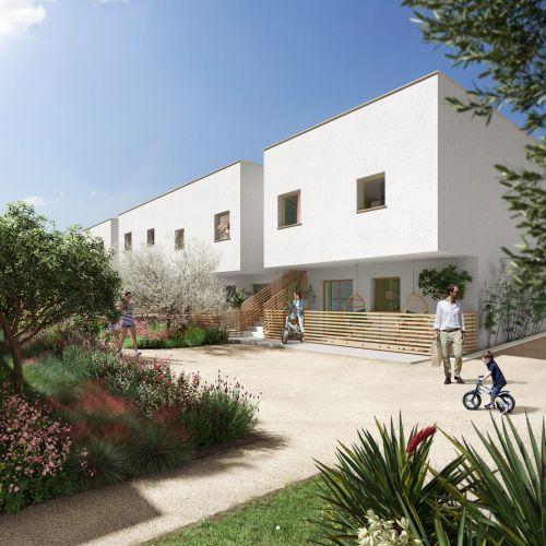 logement neuf extérieur FELICY - MARSEILLE 12