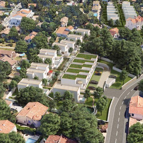 logement neuf plan 1 FELICY - MARSEILLE 12