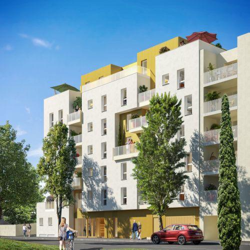 logement neuf extérieur IRISEA - VENISSIEUX