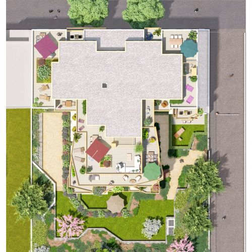 logement neuf plan IRISEA - VENISSIEUX