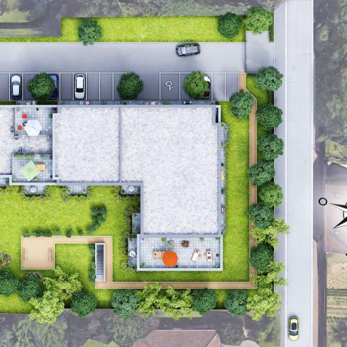 logement neuf plan Le Jardin des Nuances - WATTIGNIES