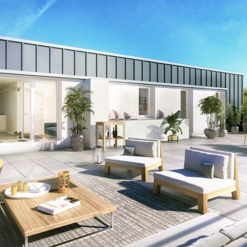 logement neuf extérieur Le Jardin des Nuances - WATTIGNIES