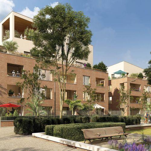 logement neuf extérieur RIVE DU PARC - TOULOUSE