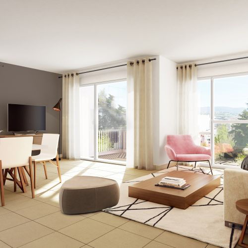 logement neuf intérieur CASTEL VIEW - CHAMBERY