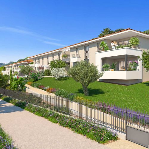logement neuf extérieur LE CLOS ST ROCH - OLLIOULES