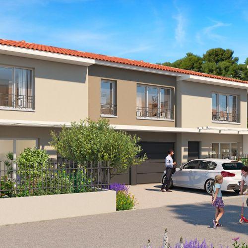 logement neuf extérieur 1 LE CLOS ST ROCH - OLLIOULES