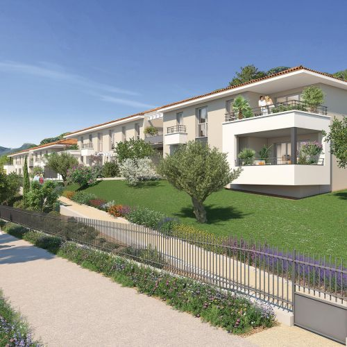 logement neuf extérieur 3 LE CLOS ST ROCH - OLLIOULES
