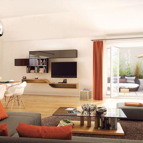 logement neuf intérieur LE CLOS ST ROCH - OLLIOULES