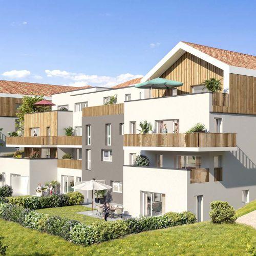 logement neuf extérieur 1 La Clé des Champs - MARIGNY ST MARCEL