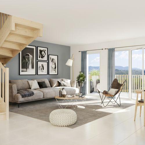 logement neuf intérieur La Clé des Champs - MARIGNY ST MARCEL