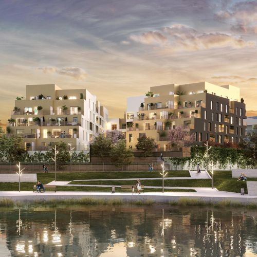 logement neuf extérieur 1 Les Lucioles - SAVIGNY LE TEMPLE