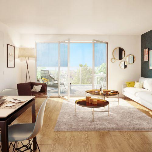 appartement neuf intérieur Les Lucioles - SAVIGNY LE TEMPLE