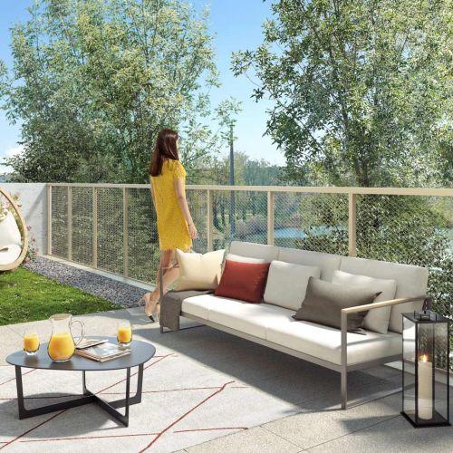 logement neuf extérieur Les Lucioles - SAVIGNY LE TEMPLE