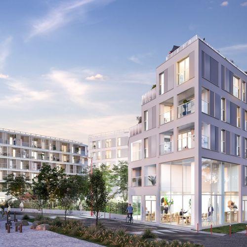 logement neuf extérieur FAIR PLAY - BONDY