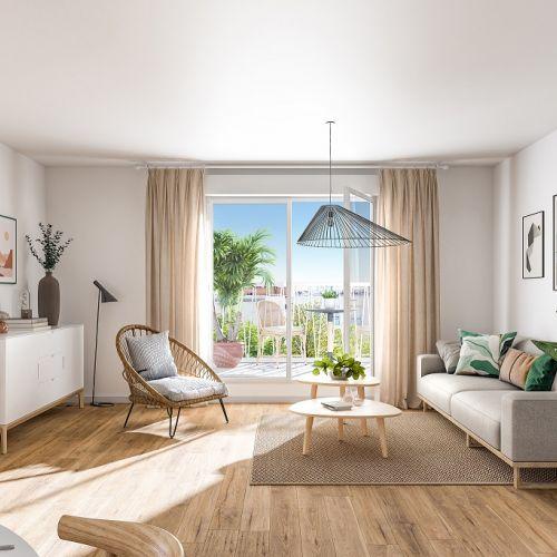 logement neuf intérieur FAIR PLAY - BONDY