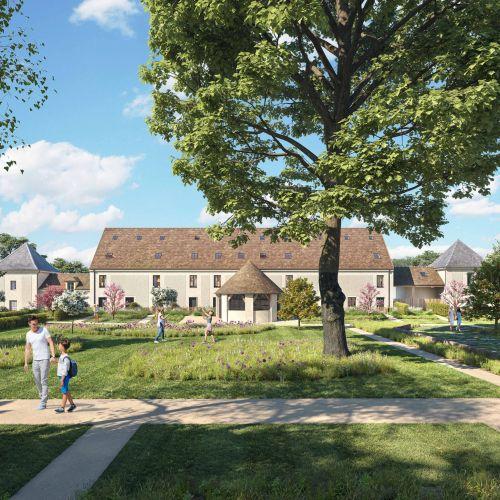 logement neuf extérieur 1 LA FERME DE CHESSY - CHESSY