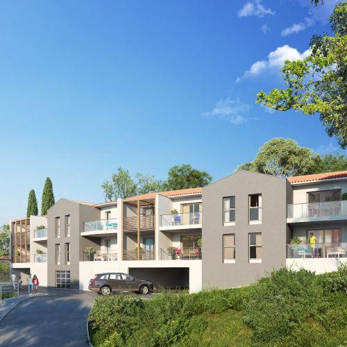 logement neuf extérieur 1 INFINI D'AZUR - COGOLIN