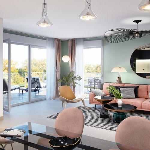logement neuf intérieur INFINI D'AZUR - COGOLIN