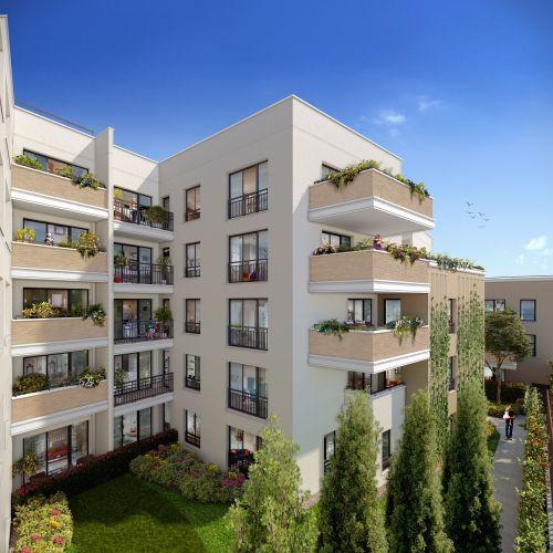 logement neuf extérieur Arboria - DRANCY