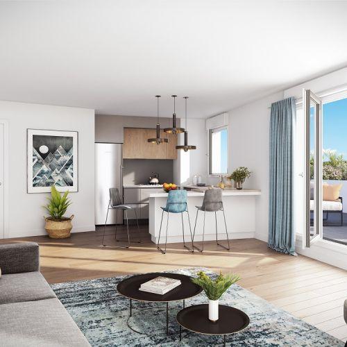 logement neuf intérieur Arboria - DRANCY