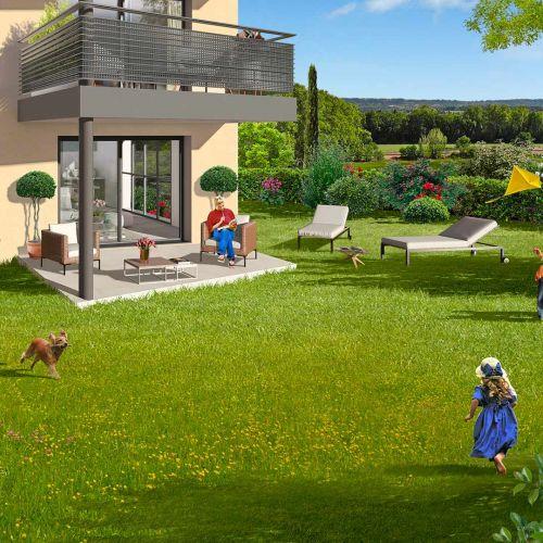 logement neuf extérieur NEO - AIX EN PROVENCE