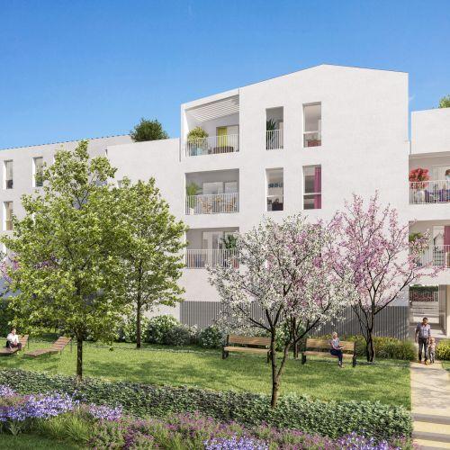 logement neuf extérieur JARDIN D'IRO - GRIGNY