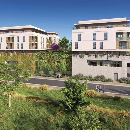 logement neuf extérieur 2 - MONTPELLIER