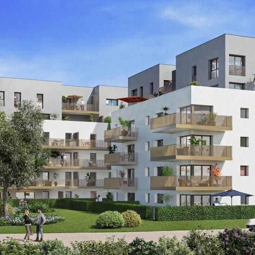 logement neuf extérieur Vita - AMBILLY