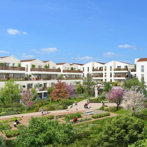 logement neuf extérieur Esprit Matisse - FENOUILLET