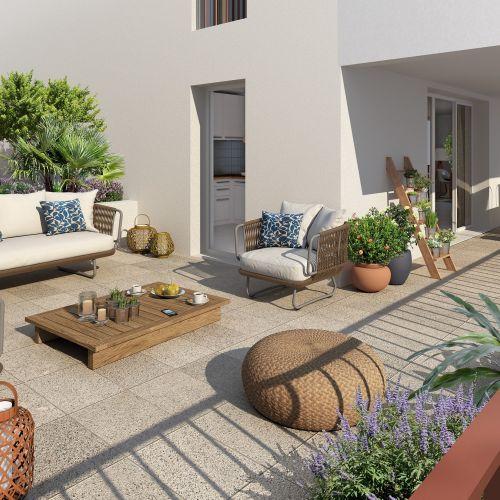 logement neuf extérieur 2 Esprit Matisse - FENOUILLET