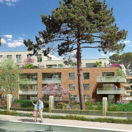 logement neuf extérieur 2 ELOGE DU PARC - TOULOUSE