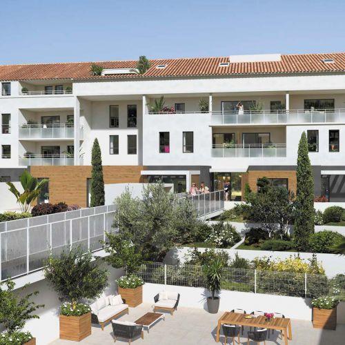 logement neuf extérieur 2 Esprit Calanques - MARSEILLE 08
