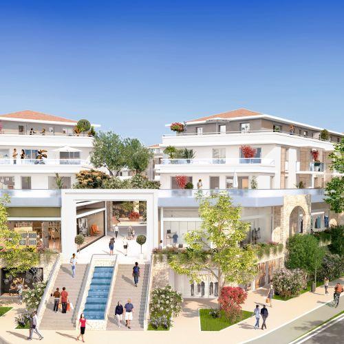 logement neuf extérieur Cours des Arts - MOUGINS