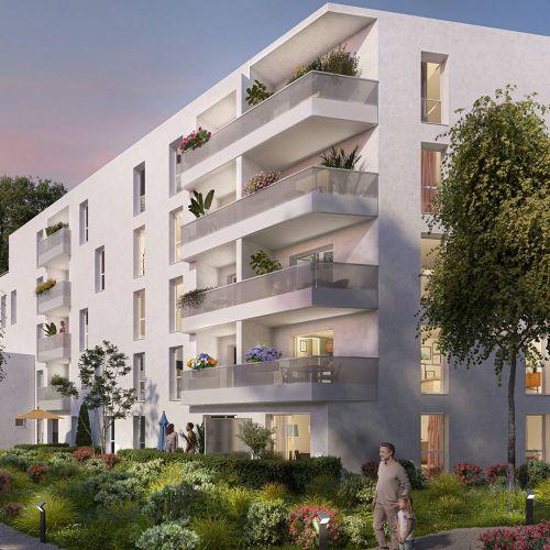 logement neuf extérieur AUREA - ORVAULT
