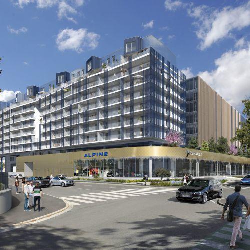 logement neuf extérieur 8ème Art - MARSEILLE 08