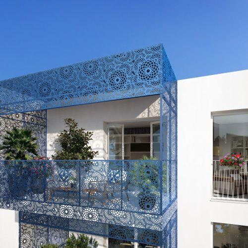 logement neuf extérieur 3 8ème Art - MARSEILLE 08