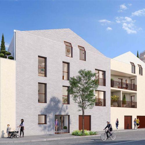 logement neuf extérieur Escale sur Jardins - BORDEAUX