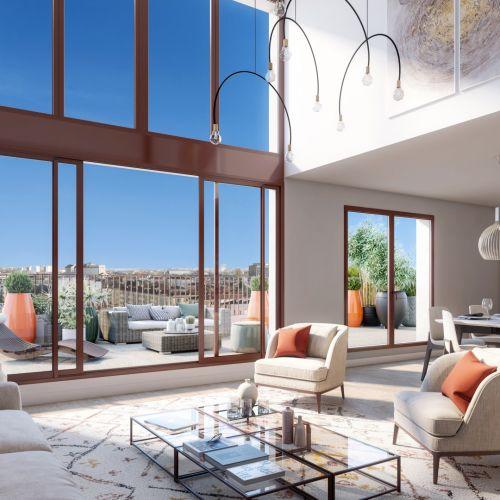 logement neuf intérieur 1 Escale sur Jardins - BORDEAUX