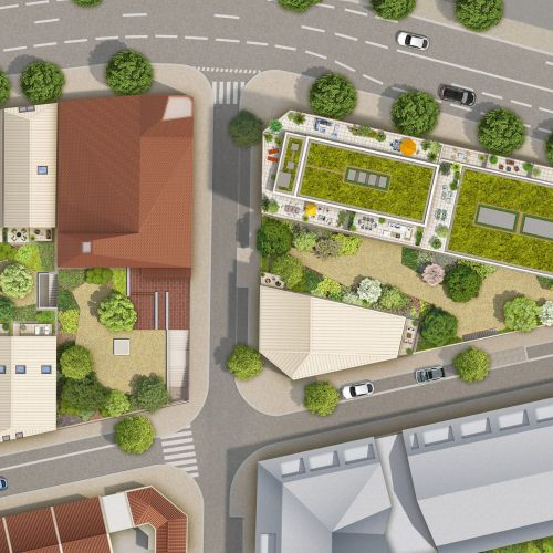 logement neuf plan Escale sur Jardins - BORDEAUX