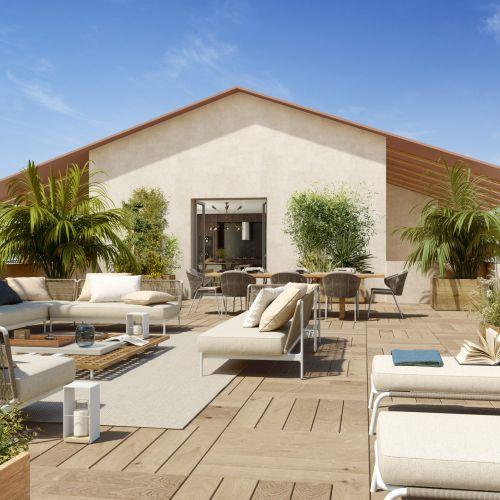 logement neuf extérieur ENVY - Marseille