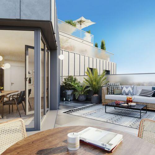 logement neuf extérieur Novo - NOISY LE SEC