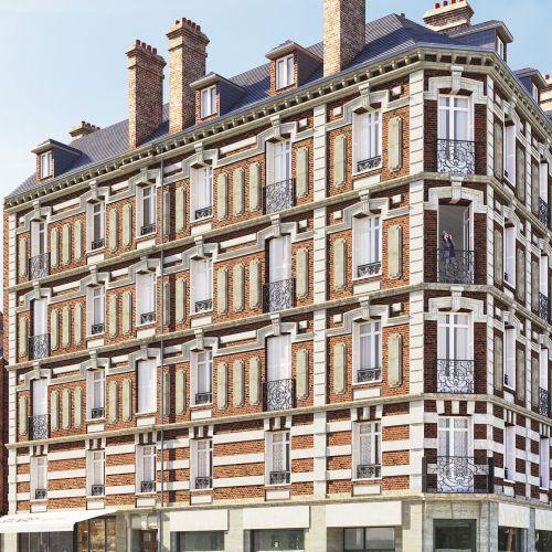 logement neuf extérieur SAINT VIVIEN - ROUEN