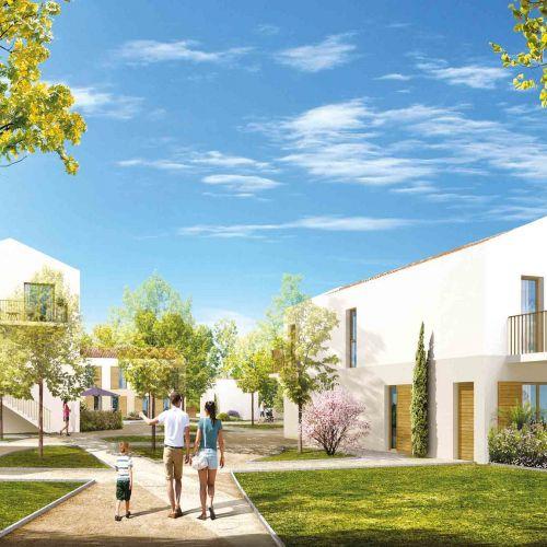 logement neuf extérieur Massado - CHATEAUNEUF LE ROUGE