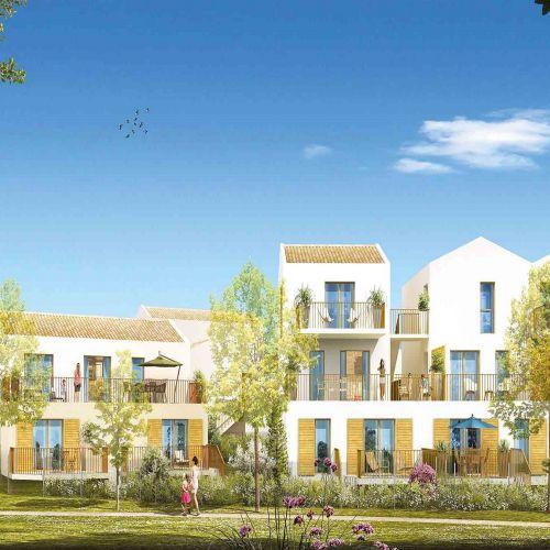 logement neuf extérieur 2 Massado - CHATEAUNEUF LE ROUGE